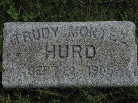 HURD, TRUDY MONTEZ - Greenwood County, Kansas   TRUDY MONTEZ HURD - Kansas Gravestone Photos