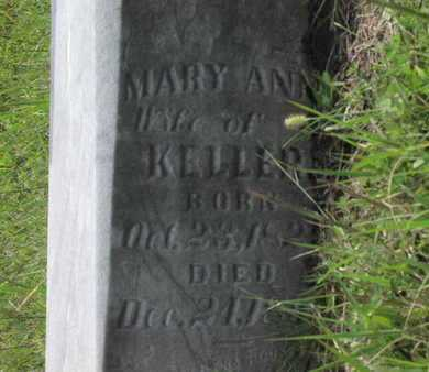 KELLER, MARY ANN - Greenwood County, Kansas   MARY ANN KELLER - Kansas Gravestone Photos