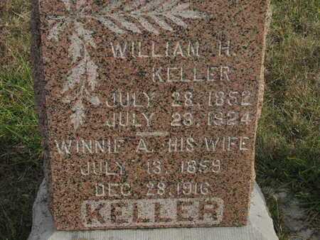 DAILY KELLER, WINNIE AMANDA - Greenwood County, Kansas | WINNIE AMANDA DAILY KELLER - Kansas Gravestone Photos