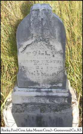 "WHITMER KESTER, MARY JANE ""POLLY"" - Greenwood County, Kansas | MARY JANE ""POLLY"" WHITMER KESTER - Kansas Gravestone Photos"