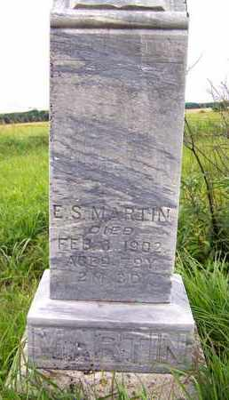MARTIN, ELIJAH STRONG - Greenwood County, Kansas | ELIJAH STRONG MARTIN - Kansas Gravestone Photos