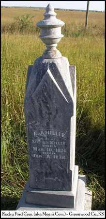 POGUE MILLER, ELIZABETH J - Greenwood County, Kansas | ELIZABETH J POGUE MILLER - Kansas Gravestone Photos