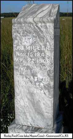 MILLER, ELIZABETH S - Greenwood County, Kansas   ELIZABETH S MILLER - Kansas Gravestone Photos