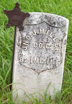 MILLER, JNO J   (VETERAN UNION) - Greenwood County, Kansas   JNO J   (VETERAN UNION) MILLER - Kansas Gravestone Photos