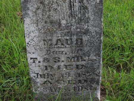 MILLS, MAUD - Greenwood County, Kansas   MAUD MILLS - Kansas Gravestone Photos