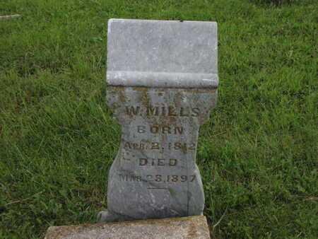 MILLS, WILLIAM - Greenwood County, Kansas | WILLIAM MILLS - Kansas Gravestone Photos