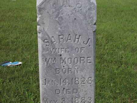 MOORE, SARAH J - Greenwood County, Kansas | SARAH J MOORE - Kansas Gravestone Photos