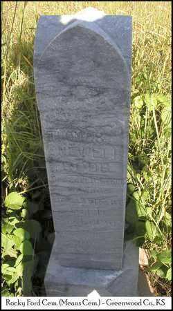 ROBB, THOMAS NEWELL   (VETERAN UNION) - Greenwood County, Kansas   THOMAS NEWELL   (VETERAN UNION) ROBB - Kansas Gravestone Photos