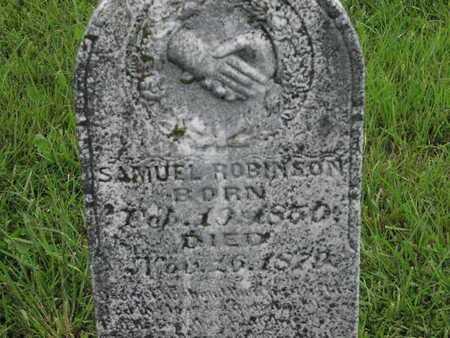ROBINSON, SAMUEL - Greenwood County, Kansas   SAMUEL ROBINSON - Kansas Gravestone Photos