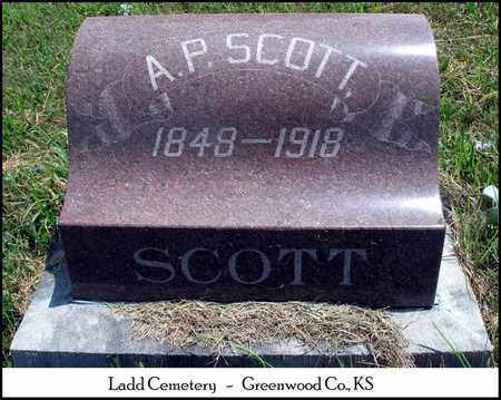 SCOTT, ANDREW PETER - Greenwood County, Kansas | ANDREW PETER SCOTT - Kansas Gravestone Photos