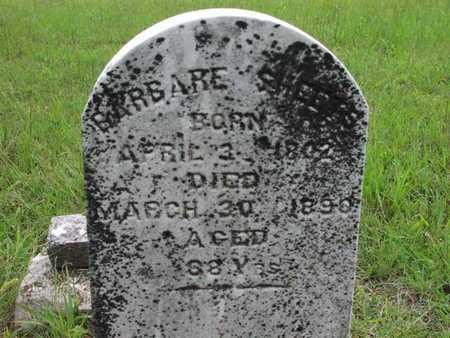 SHEETS, BARBARE - Greenwood County, Kansas   BARBARE SHEETS - Kansas Gravestone Photos