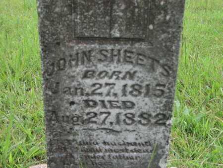 SHEETS, JOHN - Greenwood County, Kansas | JOHN SHEETS - Kansas Gravestone Photos