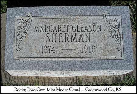 SHERMAN, MARGARET - Greenwood County, Kansas | MARGARET SHERMAN - Kansas Gravestone Photos