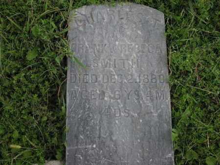 SMITH, CHARLES T - Greenwood County, Kansas   CHARLES T SMITH - Kansas Gravestone Photos