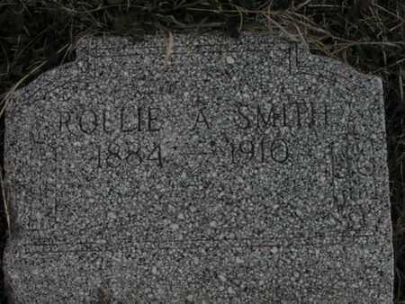 SMITH, ROLLIE A - Greenwood County, Kansas | ROLLIE A SMITH - Kansas Gravestone Photos