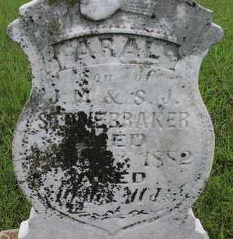 STONEBRAKER, ARAL - Greenwood County, Kansas   ARAL STONEBRAKER - Kansas Gravestone Photos