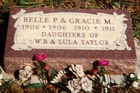 TAYLOR, GRACIE MAY - Greenwood County, Kansas   GRACIE MAY TAYLOR - Kansas Gravestone Photos
