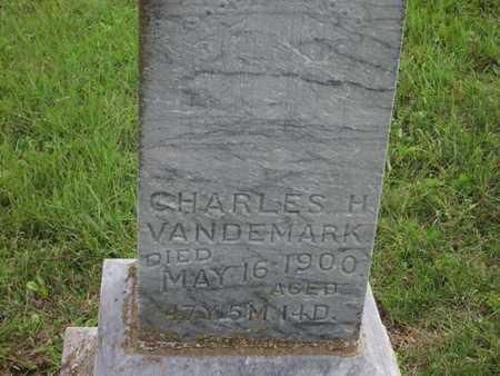 VANDEMARK, CHARLES H - Greenwood County, Kansas | CHARLES H VANDEMARK - Kansas Gravestone Photos