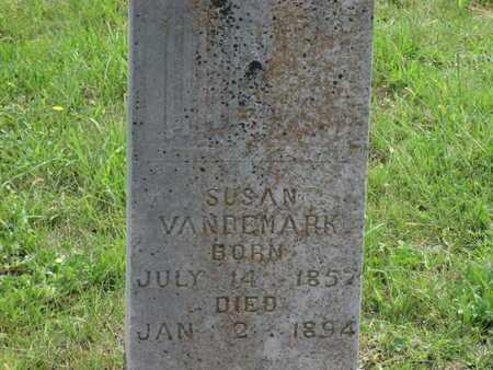 PRITCHARD VANDEMARK, SUSAN - Greenwood County, Kansas   SUSAN PRITCHARD VANDEMARK - Kansas Gravestone Photos