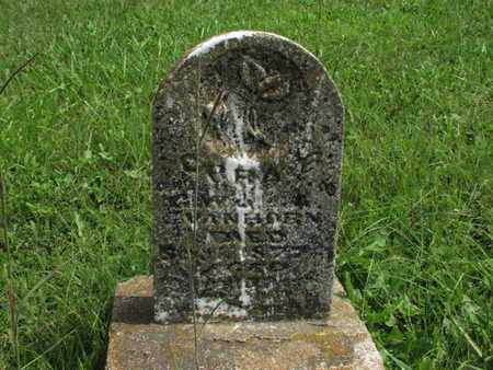 VANHORN, CORA E - Greenwood County, Kansas   CORA E VANHORN - Kansas Gravestone Photos