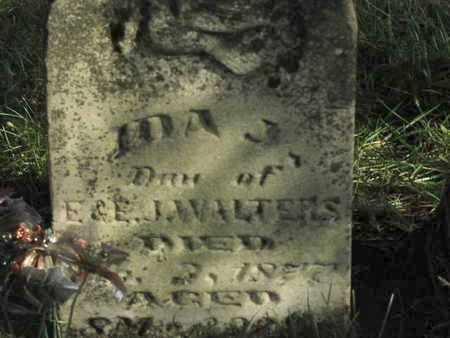 WALTERS, IDA JANE - Greenwood County, Kansas | IDA JANE WALTERS - Kansas Gravestone Photos