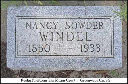 SEXTON, NANCY CAROLINE - Greenwood County, Kansas | NANCY CAROLINE SEXTON - Kansas Gravestone Photos