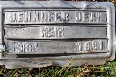 KEY, JENNIFER JEAN - Greenwood County, Kansas | JENNIFER JEAN KEY - Kansas Gravestone Photos