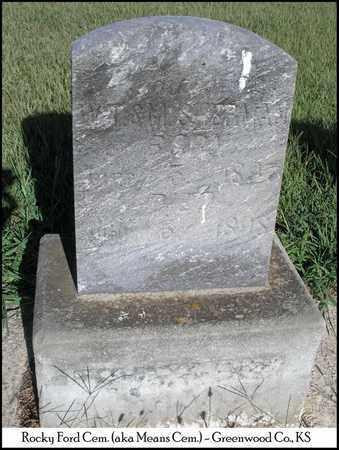 SHERMAN, BABY DAUGHTER - Greenwood County, Kansas | BABY DAUGHTER SHERMAN - Kansas Gravestone Photos