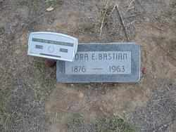 TOLLE BASTIAN, NORA ELLEN - Hamilton County, Kansas | NORA ELLEN TOLLE BASTIAN - Kansas Gravestone Photos