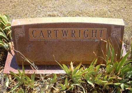 CARTWRIGHT, FAMILY STONE - Hamilton County, Kansas | FAMILY STONE CARTWRIGHT - Kansas Gravestone Photos