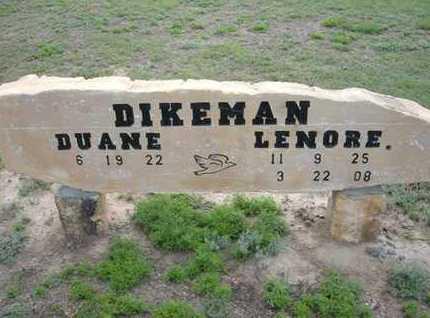 DIKEMAN, LENORE M. - Hamilton County, Kansas | LENORE M. DIKEMAN - Kansas Gravestone Photos