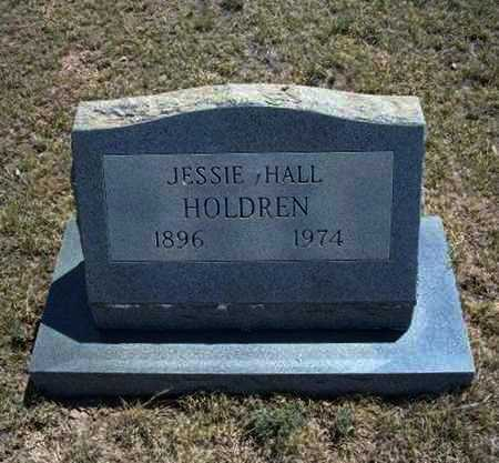 HOLDREN, JESSIE - Hamilton County, Kansas | JESSIE HOLDREN - Kansas Gravestone Photos