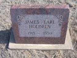 HOLDREN, JAMES EARL - Hamilton County, Kansas | JAMES EARL HOLDREN - Kansas Gravestone Photos