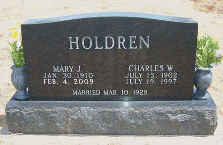 HOLDREN, CHARLES W - Hamilton County, Kansas | CHARLES W HOLDREN - Kansas Gravestone Photos