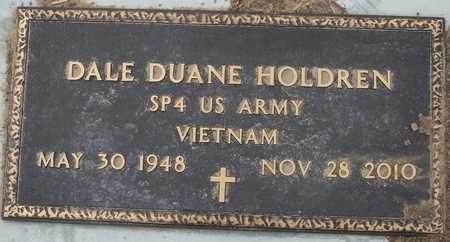 HOLDREN  , DALE DUANE  (VETERAN VIET) - Hamilton County, Kansas | DALE DUANE  (VETERAN VIET) HOLDREN   - Kansas Gravestone Photos
