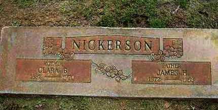 NICKERSON, JAMES HENRY - Hamilton County, Kansas   JAMES HENRY NICKERSON - Kansas Gravestone Photos