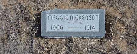 NICKERSON, MAGGIE BELLE - Hamilton County, Kansas | MAGGIE BELLE NICKERSON - Kansas Gravestone Photos