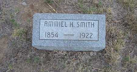 SMITH, AMMIEL H - Hamilton County, Kansas | AMMIEL H SMITH - Kansas Gravestone Photos