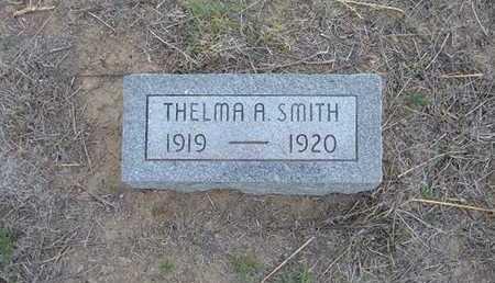 SMITH, THELMA A - Hamilton County, Kansas | THELMA A SMITH - Kansas Gravestone Photos