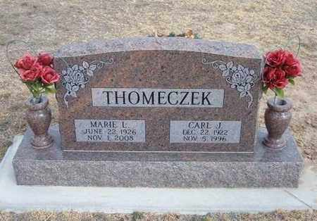 THOMECZEK, CARL JOSEPH - Hamilton County, Kansas | CARL JOSEPH THOMECZEK - Kansas Gravestone Photos