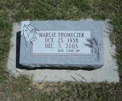 "THOMECZEK, MARGARET JANE ""MARGIE"" - Hamilton County, Kansas | MARGARET JANE ""MARGIE"" THOMECZEK - Kansas Gravestone Photos"