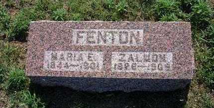 FENTON, MARIA E - Haskell County, Kansas   MARIA E FENTON - Kansas Gravestone Photos