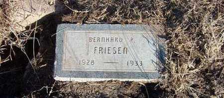 FRIESEN, BERNHARD P - Haskell County, Kansas   BERNHARD P FRIESEN - Kansas Gravestone Photos