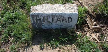 HILLARD, INFANT - Haskell County, Kansas | INFANT HILLARD - Kansas Gravestone Photos
