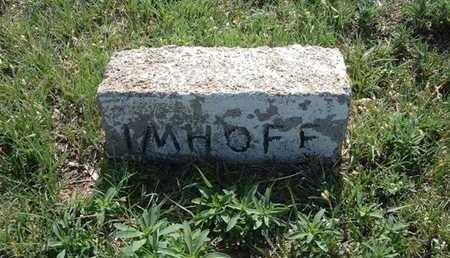 IMHOFF, JANE - Haskell County, Kansas | JANE IMHOFF - Kansas Gravestone Photos