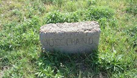 JOSSERAND, EUGENE - Haskell County, Kansas   EUGENE JOSSERAND - Kansas Gravestone Photos