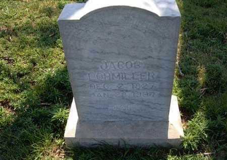 LOHMILLER, JACOB - Haskell County, Kansas   JACOB LOHMILLER - Kansas Gravestone Photos