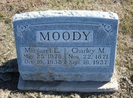 MOODY, CHARLEY MARION - Haskell County, Kansas | CHARLEY MARION MOODY - Kansas Gravestone Photos