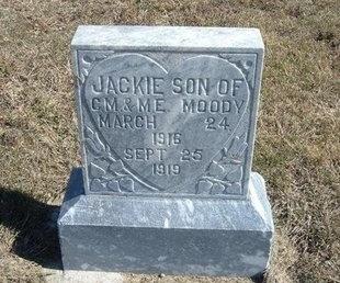 MOODY, JACKIE - Haskell County, Kansas | JACKIE MOODY - Kansas Gravestone Photos