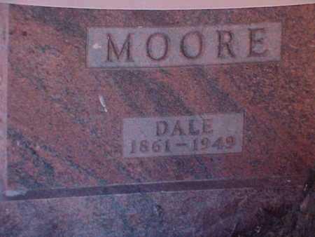MOORE, DALE - Haskell County, Kansas | DALE MOORE - Kansas Gravestone Photos